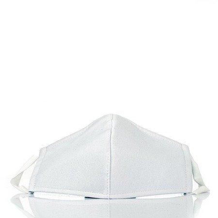 Белая 3-слойная маска для лица - Маски