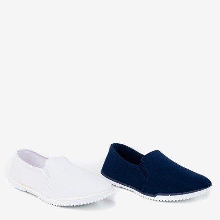 Детские белые слипоны Swetselia - Обувь