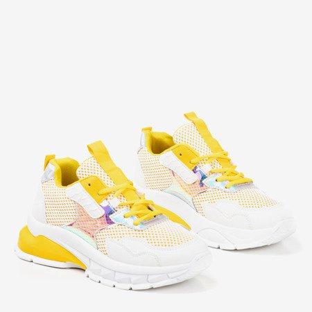Желтые женские кроссовки Spring Day - Обувь