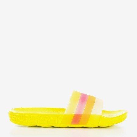 Желтые женские тапочки Florinda - Обувь