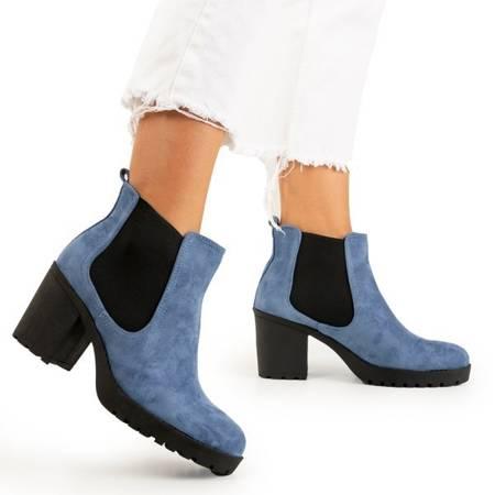 Женские ботильоны Umberto blue - Обувь