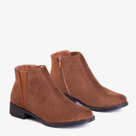 Коричневые женские ботинки Челси Achlum - Обувь
