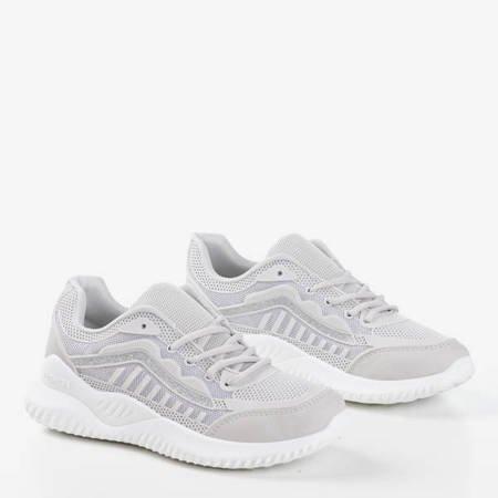 Светло-серая женская спортивная обувь Aksu - Обувь