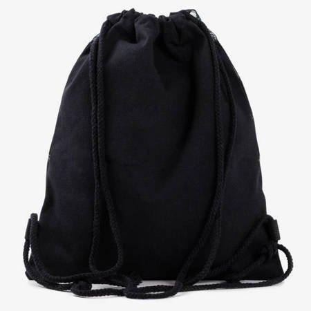 Серебряная сумка с геометрическим рисунком - Рюкзаки