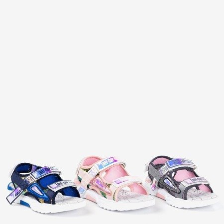 Серые детские сандалии Frida - Обувь