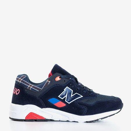 Темно-синие женские спортивные туфли Asambli - Обувь