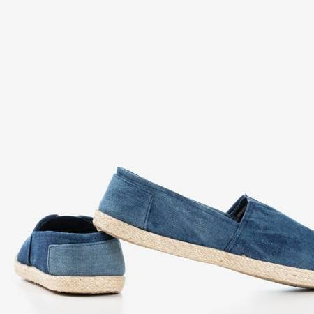 Темно-синие женские эскадрильи из джинсового материала Timsaio - Обувь