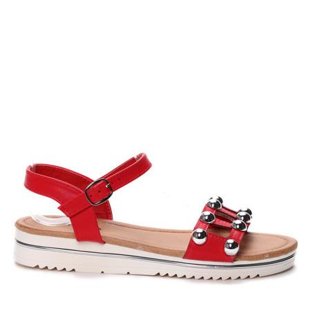 Czerwone sandały - Obuwie
