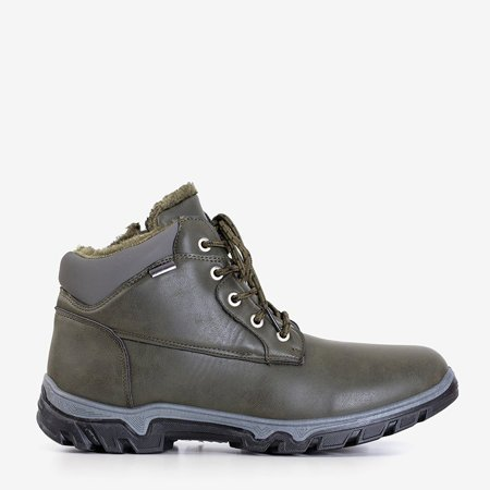 Мужские трекинговые кроссовки Huraw цвета хаки - Обувь