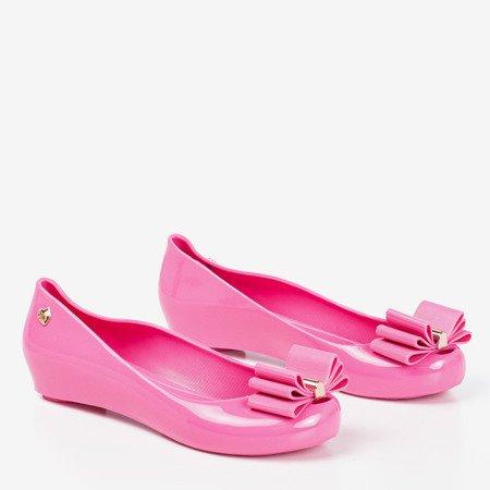 Pink Meliski с бантом Tyrika - Обувь