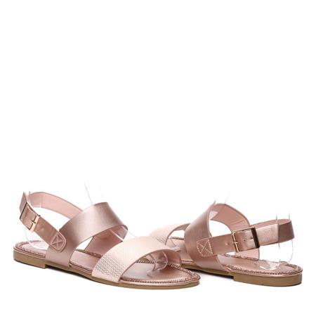 Różowe sandały - Obuwie