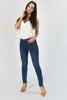 Женские джинсовые брюки с завышенной талией - Одежда
