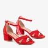 Сандалии на низком каблуке Red Parba - Обувь