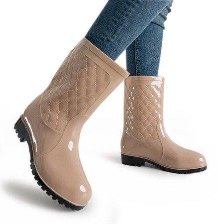 Бежеві жіночі напівкомбінезони Muni - Взуття 1