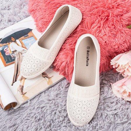 Бежеві жіночі шнурові накладки - на Trassca - Взуття 1