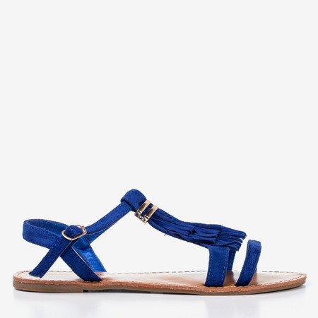 Босоніжки з камінцями з бахромою Minikria - Взуття 1