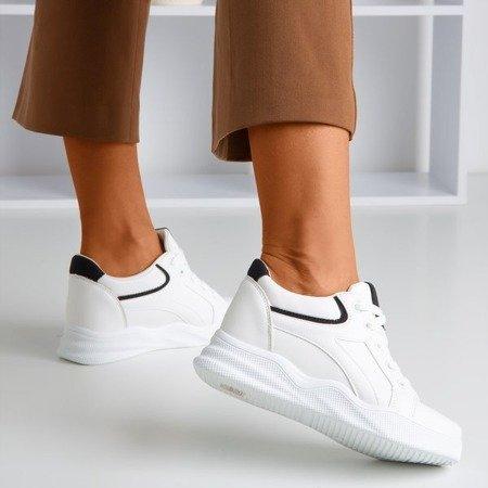 Білі жіночі кросівки на закритому клині Trixy - Взуття 1