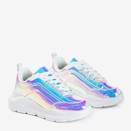 Голографічне взуття на товстій платформі Dambi - Взуття