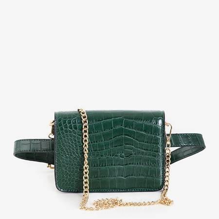 Жіноча зелена сумка для нирок - Сумки