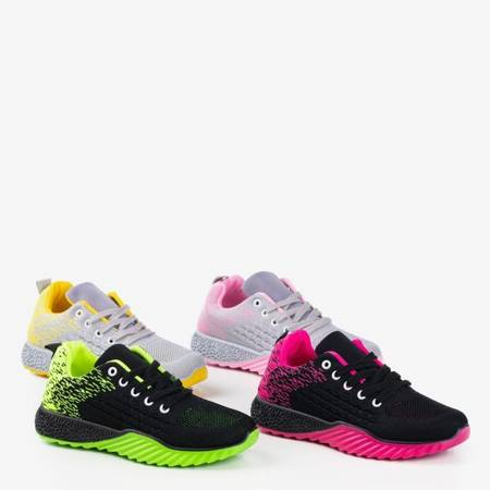 Жіноче спортивне взуття Fonto Grey and Yellow - Взуття