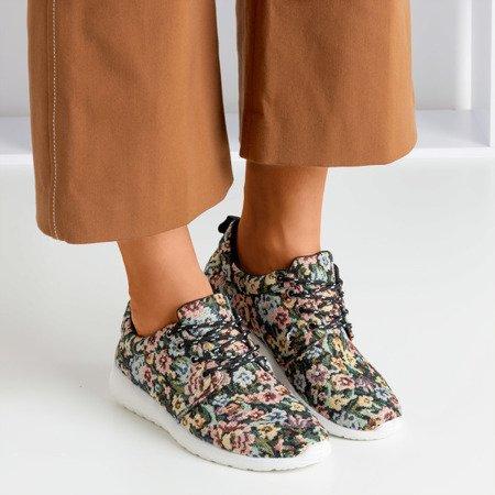 Жіноче чорне спортивне взуття Floena - Взуття