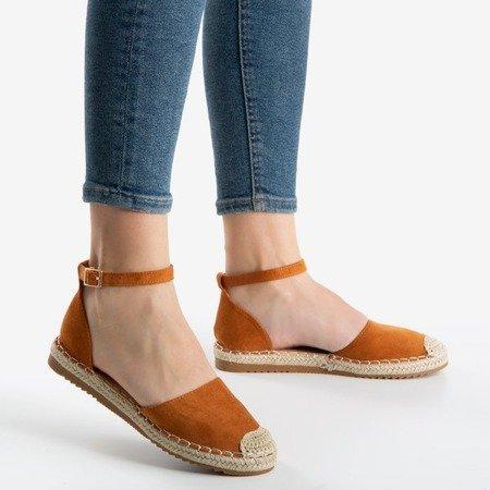 Жіночі еспадрільї Leilane коричневі - Взуття