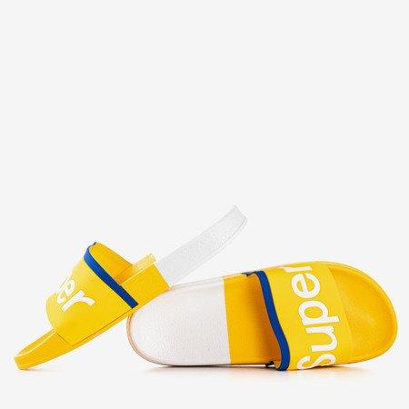 Жіночі жіночі тапочки з написом Supera - Взуття 1