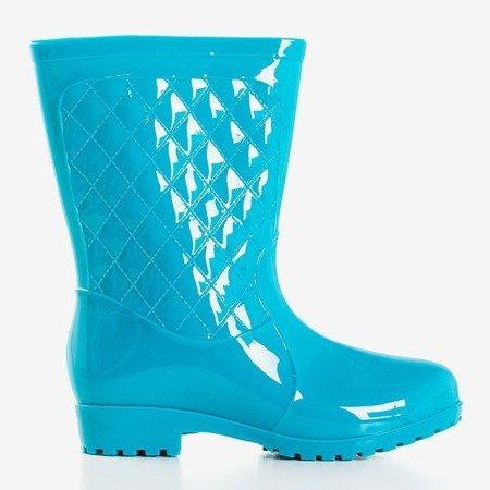 Жіночі сині чоботи на середньому литку Muni - Взуття