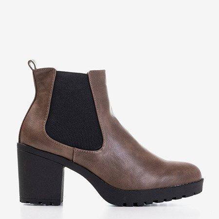 Жіночі чоботи з хакі Vireek - Взуття