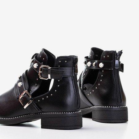 Жіночі чорні черевики з вирізами Zoran - Взуття