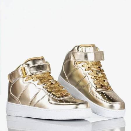 Золоте спортивне взуття на платформі Tiny Dancer - Взуття 1