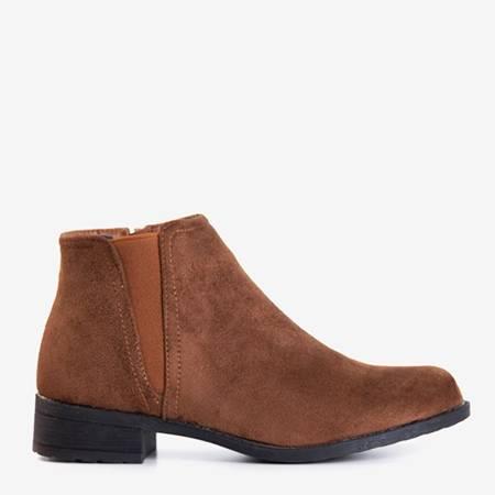 Коричневі жіночі черевики Челсі Achlum - Взуття