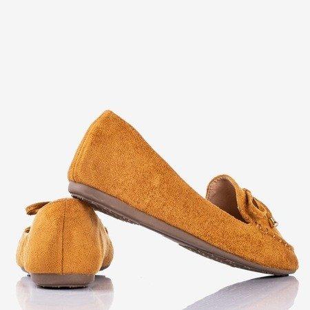 Коричневі мокасини з бантиком Petronella - Взуття 1