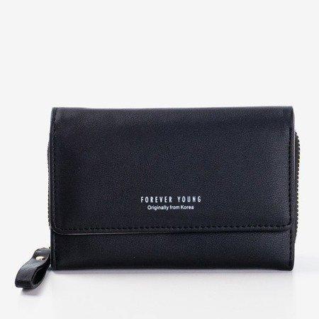Маленький чорний жіночий гаманець - Гаманець 1