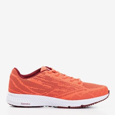 Неонові помаранчеві чоловічі кросівки Erol - Взуття