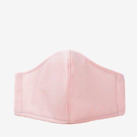 Ніжно-рожева 3-шарова маска для обличчя - Маски