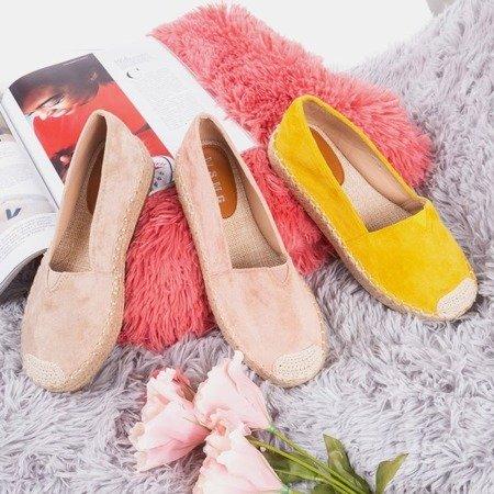 Рожеві еспадрільї на платформі Roseanne - Взуття