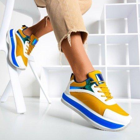 Різнокольорове жіноче спортивне взуття на товстій платформі Savssia - Взуття