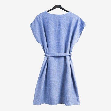 Синє жіноче плаття - Плаття 1