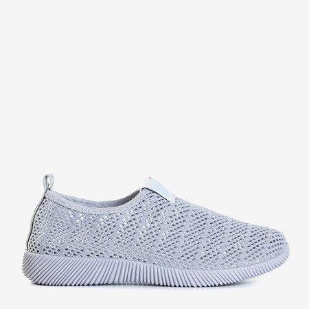 Сірі жіночі тапочки на кросівки Syio - Взуття