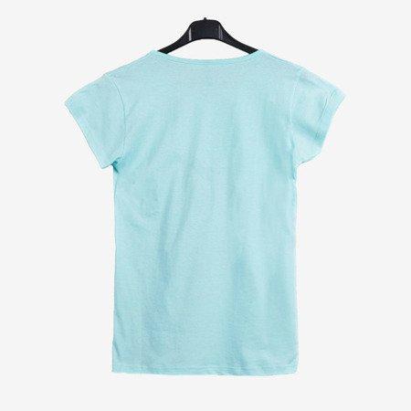 Футболка з м'ятою з короткими рукавами - Блузки 1