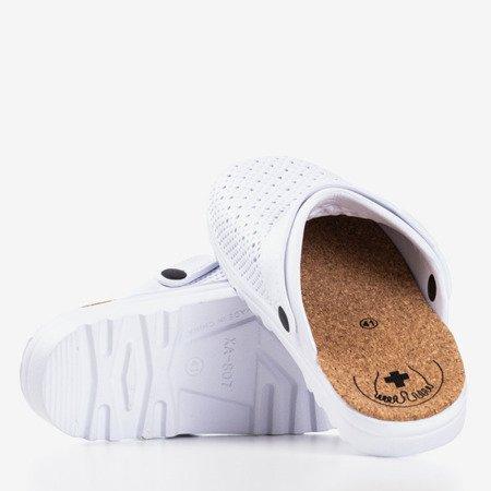 Чоловічі білі сабо Овен - Взуття