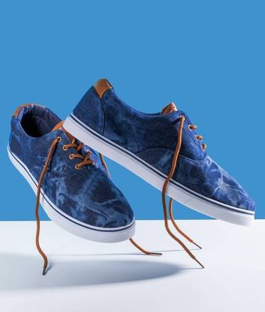 Чоловічі тренажери для дротиків темно-синього кольору - взуття