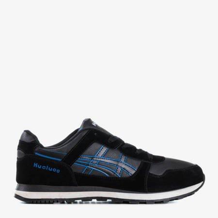 Чорне та темно-синє спортивне взуття для чоловіків James - Взуття
