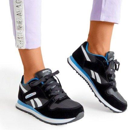 Чорно-біле жіноче спортивне взуття Hulione - Взуття