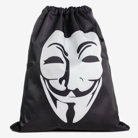 Чорно-білий тип рюкзака з маскою - Рюкзаки 1