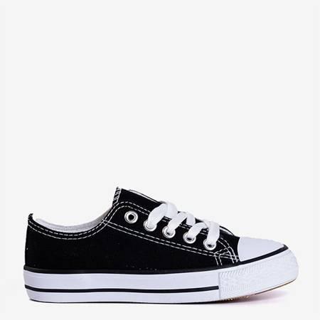 Чорно-білі дитячі кеди Franklin - Взуття