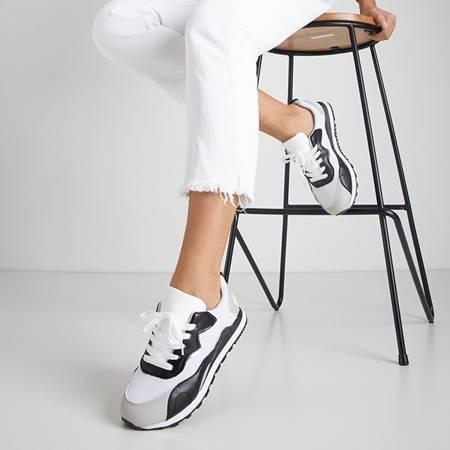 Чорно-білі кросівки Mavena - Взуття