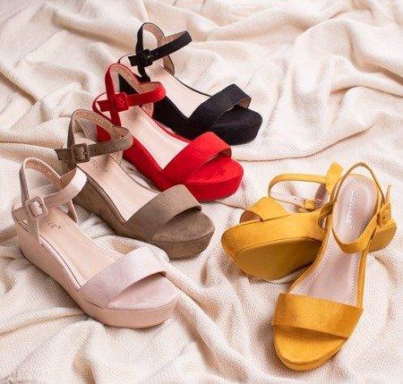 Чорні босоніжки Lysnes - Взуття