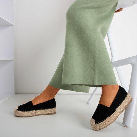 Чорні еспадрільї Roseanne - Взуття